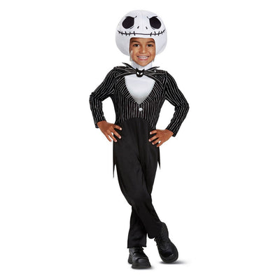 Baby Kids 'O Pesadelo Antes do Natal Jack Skellington Halloween Costume 12-18M