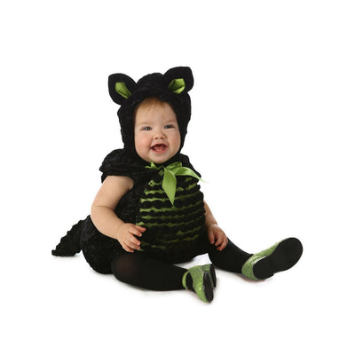 Vintage das meninas do bebê Clara the Kitty Halloween Costume - Princess Paradise