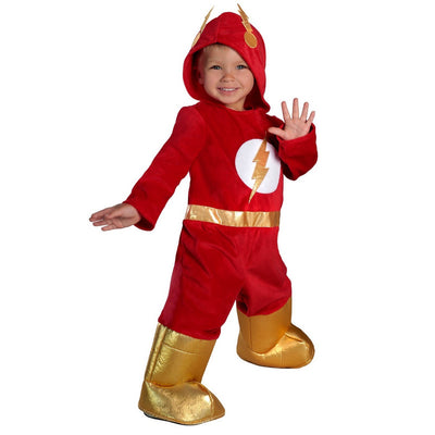 O Flash Premium Toddlers 'Jumpsuit Halloween Costume 2T - Princesa Paraíso