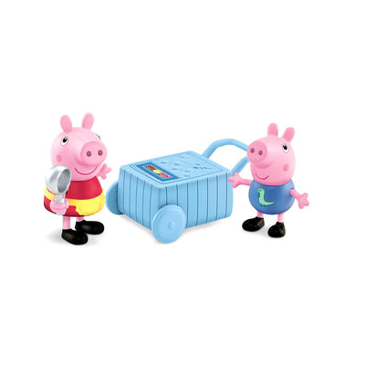 Peppa & George - Sorveteria - Fisher Price