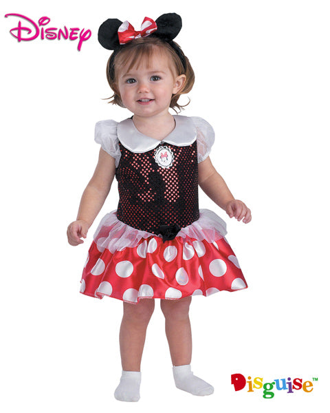 Fantasia Minnie Mouse - Disney 12 a 18 Meses