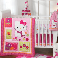 Kit de Berço - Hello Kitty - Lambs & Ivy