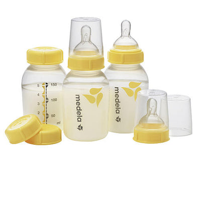 Kit 3 Mamadeiras 150ml - Medela