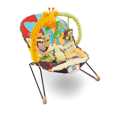 Cadeirinha Vibratoria - Luv U Zoo - Fisher Price
