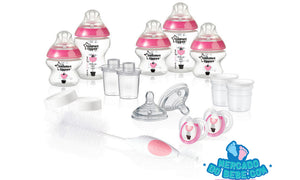 Kit Completo Mamadeiras Rosa - Tommee Tippee
