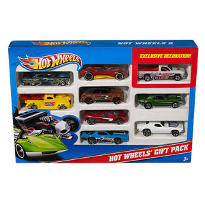 Kit 9 Carrinhos - Hot Wheels