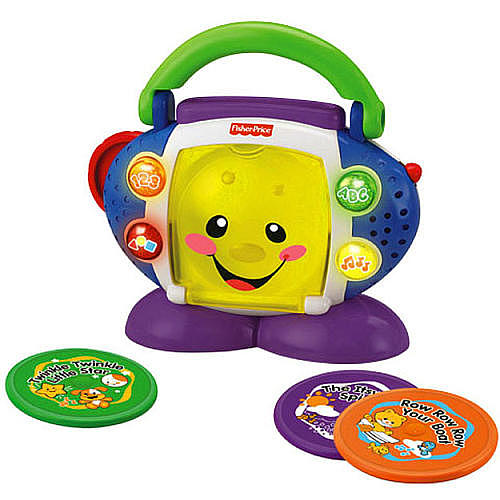 NOVO! Aprendendo com o CD Player - Fisher Price