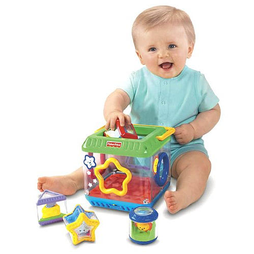 Peek-a-Blocks  Fisher Price