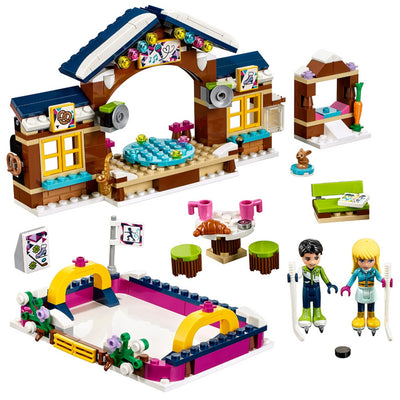 Pista de patinação no gelo da LEGO Friends Snow Resort
