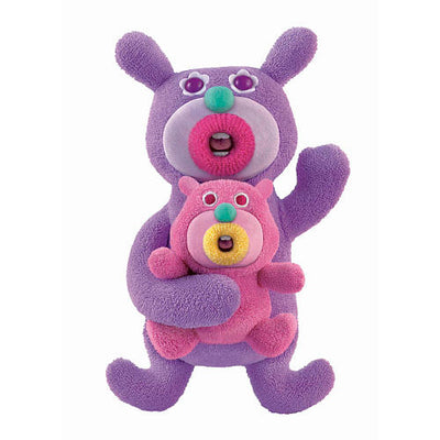 Sing-a-ma-jigs Duet Purple with Pink Baby - Fisher-Price