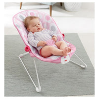 Bouncer Fisher-Price - elipse rosa