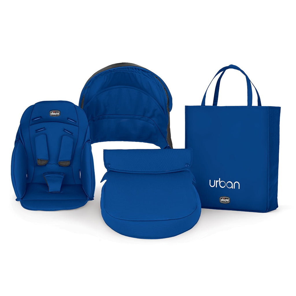 Kit Assento Urban - Azul - Chicco