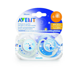 Chupeta Avent Philips - Night Time - 06 a 18m