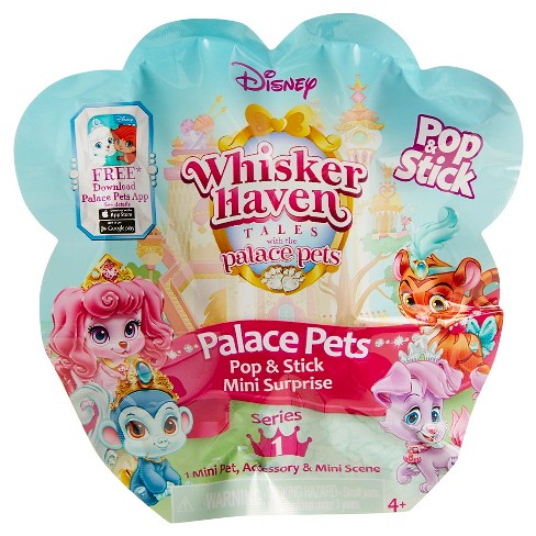 Disney Palace Pets Pop e Stick Mini Surpresa Malas