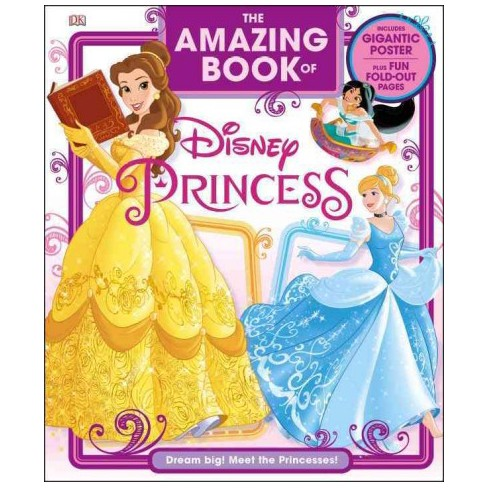Livro Incrível da Disney Princess (Hardcover) (Eleanor Rose)