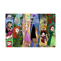 Disney Princess Comic Strips Colecção 2 (Paperback) (Amy Mebberson e Georgia Ball & Samantha Beiko &