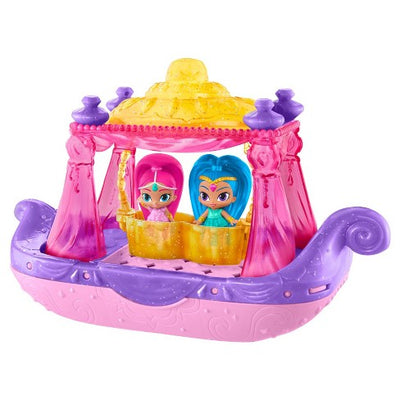 Barco-gênio Fisher-Price Shimmer e Shine & Splash Swing & Splash
