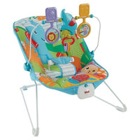 Bouncer do bebê de reino animal Fisher-Price