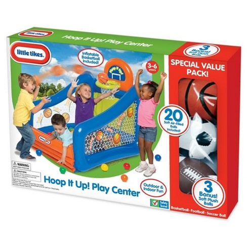 Little Tikes® Hoop It Up Pacote de valor Pitbull