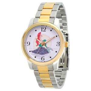 Women's Disney Princess Ariel Two Tone Alloy Watch - Two Tone