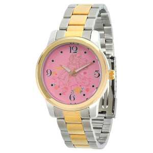 Disney Princess Belle Dois Tom Alloy Watch - Two Tone
