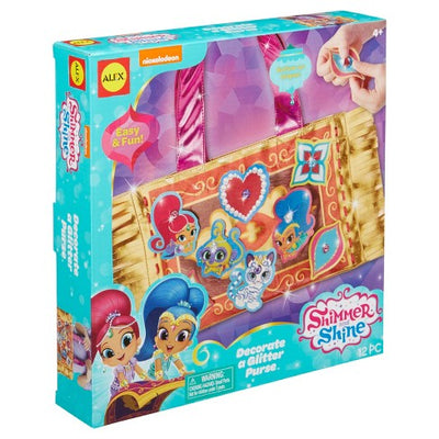 Shimmer and Shine Decore uma bolsa Glitter