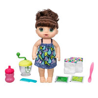 Bebê vivo Sweet Spoonfuls Baby Doll Girl - morena