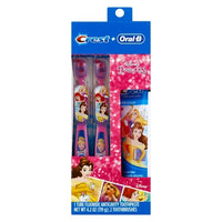 Crest + Oral-B Disney Princesa Toothcare Set - 2ct / 4.2oz