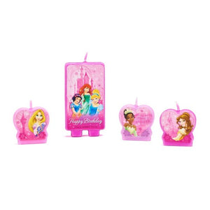 4ct Disney Princess Party Candles