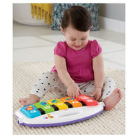 Fisher-Price Deluxe Kick & Play Piano Playmat de Ginástica - Rosa