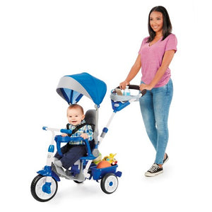 Little Tikes Perfect Fit 4-em-1 Trike - azul