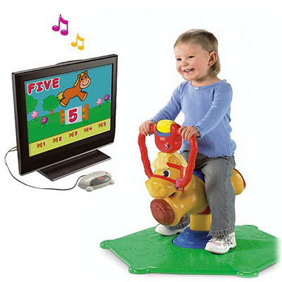 Pony Fisher Price Bounce e Spin