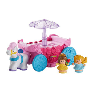 Carruagem e Carrossel Princesas Disney - Fisher Price