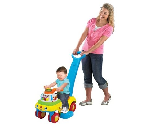 NOVO! 3 em 1 Andador Scoot - Fisher Price