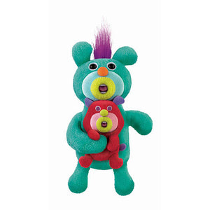 Sing-a-ma-jigs Duet Green with Red Puppet - Fisher-Price