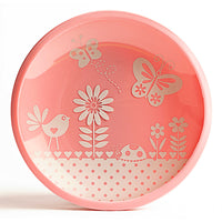 Brinware Garden Party Dishes em rosa (conjunto de 2)