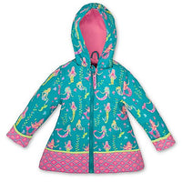 Teal Mermaid Raincoat - Stephen Joseph