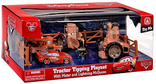Carros Tractor Tipping - Disney