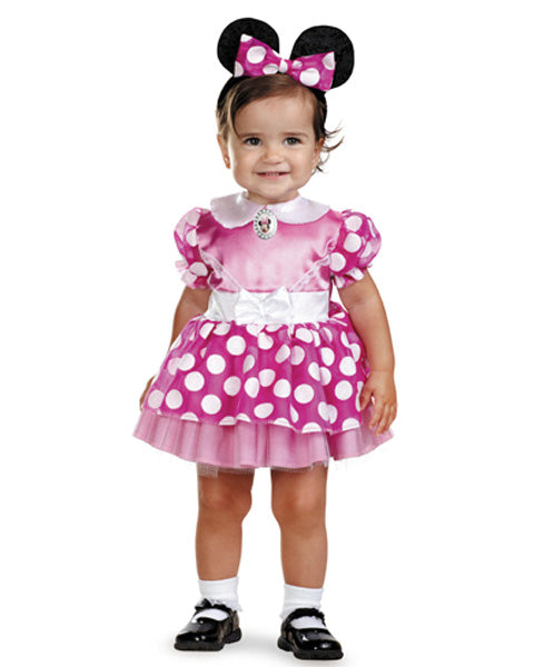 Pink Minnie Mouse - Disney 12 a 18 Meses