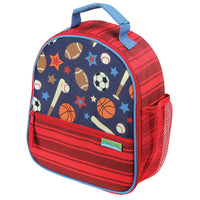 Sports Print Lunchbox-Stephen Joseph ( Item Personalizado)