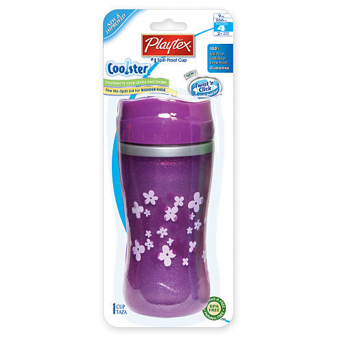 Copo Twist Anti-vazamento Lilás - Playtex