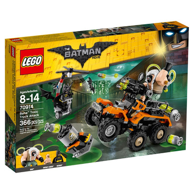 LEGO Batman Movie Bane Ataque a Caminhão Tóxico