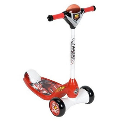 Patinete Scooter Luz e Som - Carros Disney - Huffy