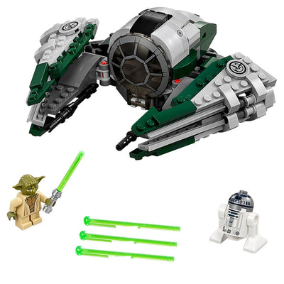Jedi Starfighter de LEGO Star Wars Yoda