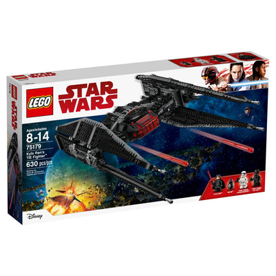 Lutador de TIE do LEGO Star Wars O Ted do Last Jedi Kylo Ren