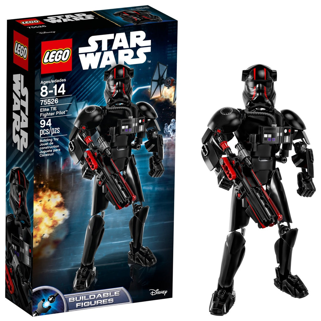 LEGO Constraction Star Wars O último piloto de caça TIE Elite TIE