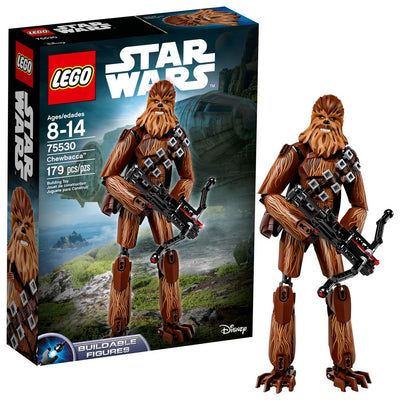 LEGO Constraction Star Wars O Último Jedi Chewbacca