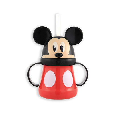 Copo com Canudo Mickey Mouse 295ml - Sassy