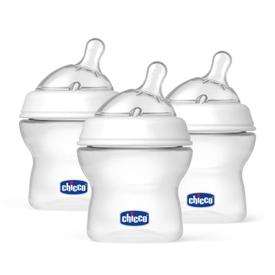 Kit 3 Mamadeiras 150ml - Natural Fit - Chicco