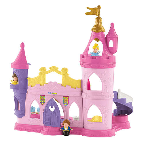 Castelo Princesas Disney - Little People